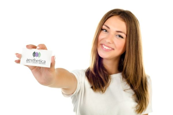 Aesthetica gift cards